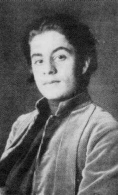 Khalil Gibran Lebanese-American artist, poet, and writer of the New York Pen League.