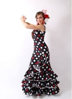 Size 42 flamenco dress on offer