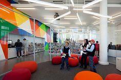 Rice+Lipka Architects — HAMILTON GRANGE TEEN CENTER