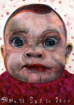 Project Showcase - Broken 1000 Faces by Takahiro Kimura Repetition Art, Collage Artists, Creative Portraits, Painting For Kids, Portrait Art, Asian Art, Figurative Art, Illustration, Modern Art