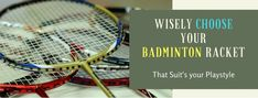This badminton racket guide will help you to know how to choose a badminton racket and many other tips related to badminton like ideal rackets weight, string tension, etc. Best Badminton Racket, Badminton Games, Badminton Sport, Tennis Racket, Rackets, Getting Out, Tips, Sports, Hs Sports