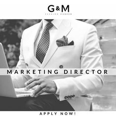 We are searching for a #Marketing Director to join a #Fashion Company in Barcelona. With a strong experience in Trade Marketing and Ecommerce, your respobsibilities would be to define the #marketing and #communication strategies for our client. To apply, send your cv to e.canali@gm-fashioncareer.com