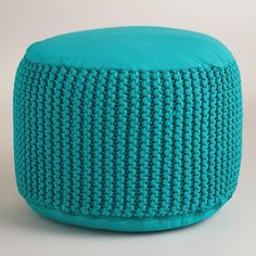 Our comfortable round floor cushion adds a splash of color to your space. www.worldmarket.com #WorldMarket Outdoor Entertaining