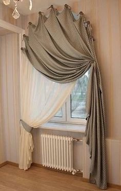 Beautiful Curtains and Window Treatments Ideas Best 25 3 Window Curtains Ideas . - Beautiful curtains and window treatments ideas best 25 3 window curtains ideas on pin … – kolba - 3 Window Curtains, Curtains For Arched Windows, Drapes Curtains, Drapery, Fabric Blinds, Curtains On Hooks, Arch Windows, Fringe Curtains, Fancy Curtains