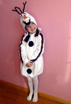 Disfraz de Olaf (Frozen) hecho en casa/ Olaf homemade costume