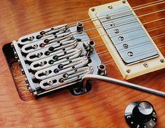 "Spalt Instruments Cale 3 12-string prototype with ""Linear"" Tremolo"