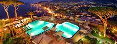 Pools by Night - San Montano Resort & SPA Ischia