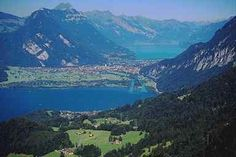 Interlaken, Switzerland, a little piece of Heaven here on Earth.  I will go back here one day.