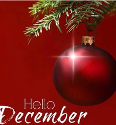 Hello December New Month New Hope Fresh Start Nothing I Love More Than a Clean Slate and Endless Possibility ❤️ December Hope Joy Peace Christmastimeishere
