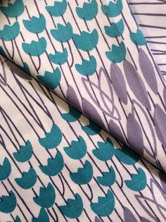 Fantastic mid century modern vintage fabric
