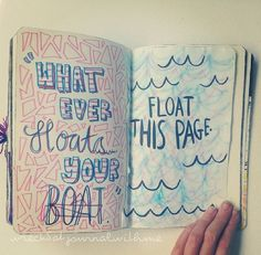 Wreck This Journal: float this page