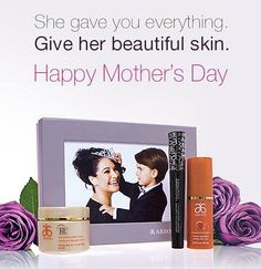 Show mum your love and appreciation with this beautifully boxed gift set you can personalize with a special photo. When you purchase this gift box containing our top Defying Neck Cream and Arbonne Cosmetics It's A Long Story™ Mascara, you'll receive the RE9 Advanced Corrective Eye Crème free! www.rhonafitzpatrick.myarbonne.com.au
