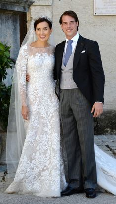 Prince Felix of Luxembourg and his bride, Claire Lademacher