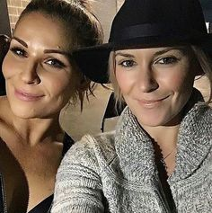 Nattie and Renee Young 2016 January 4