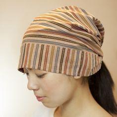 和帽子|ぬくもり工房 遠州綿紬|買っちゃった!ずーっと欲しかったし!