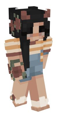 Check out our list of the best Horns Minecraft skins. Minecraft Skins Rainbow Girl, Minecraft Skins Kawaii, Minecraft Skins Female, Minecraft Skins Aesthetic, Minecraft Anime, Minecraft Games, Cool Minecraft, Minecraft Ideas, Minecraft Banner Patterns