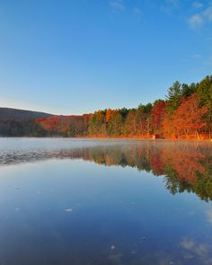 Pine Grove Furnace State Park, Pennsylvania- Early fall camping means bonfires and ghost stories with friends and family!