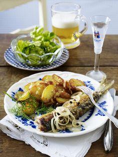 Unser beliebtes Rezept für Eingelegte Bratheringe zu Bratkartoffeln und mehr als 55.000 weitere kostenlose Rezepte auf LECKER.de.