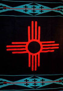 Special Edition Pendleton New Mexico Centennial Blanket Zia Symbol New in Box