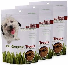 Pet Green's #Dog Treats are great tasting and healthy as their made in the USA using real meat