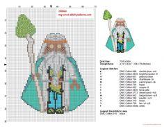 Wizard Vitruvius The Lego Movie pattern