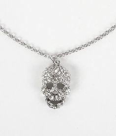 Daytrip skull necklace<3