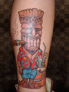 tiki tattoos - Google Search