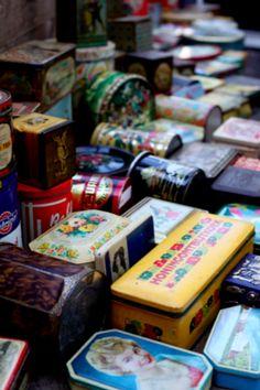 Amsterdam Waterlooplein flea market via Passion and Obsession Blog