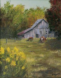 Looks just like my grandparent's farm, sweet memories.