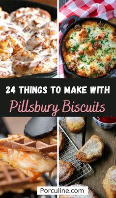 Pilsbury Biscuit Recipes, Pillsbury Crescent Roll Recipes, Best Biscuit Recipe, Dinner Biscuit Recipe, Recipes With Biscuits Pillsbury, Bisquit Recipes, Canned Biscuits, Homemade Biscuits, Crescent Rolls