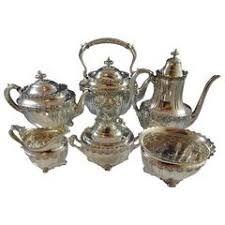 Resultado de imagen para tiffany silver tea sets