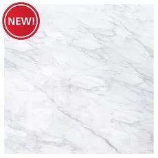 Avondale White Polished Porcelain Tile - 24 x 24 - 100609874 Sparkling White Quartz, White Quartz Counter, Marble Subway Tiles, Polished Porcelain Tiles, Traditional Tile, Pebble Mosaic, White Polish, Pebble Stone, Tile Installation