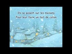 Versini - Petits flocons blancs - YourKidTv Winter Songs, French Songs, Core French, French Classroom, French Resources, French Immersion, Teaching French, Teaching Music, Daily 5