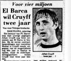 Al in 1974 tekent Johan Cruijff een contract met voorbedachte rade. In 1978 zal hij aan het einde va...