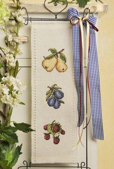 Behang mit Früchten ... toll für die Küche Design : Gerlinde Gebert Shop: www.gebert-handarbeiten.de