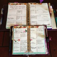 rp: have a stamp made for the task squares - from My Purpley Life: My Decorated Pages