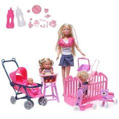Simba panenka Steffi v dětském pokojíčku 5736350 - ABC zbozi