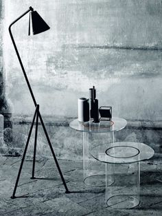 Glass Coffee Table Roound glas italia