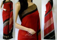 Chanderi silk cotton saree  #Chanderi #Sarees