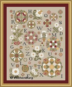 Rosettes Delight - Wiehenburg Design