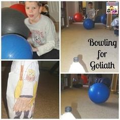 David and Goliath is a fun story to tell to kids, but David's story is much more than that one battle. But David and Goliath activities are fun to do.