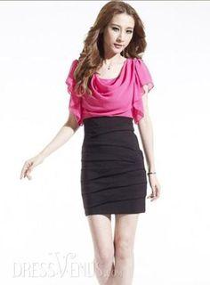 Clothing, Latest OL Slim Sexy Short Sleeve Dress, $19.99