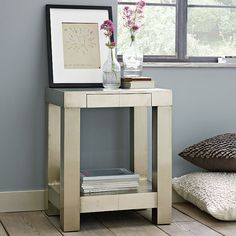 So into this glass and metal combo – Stylish Side Tables