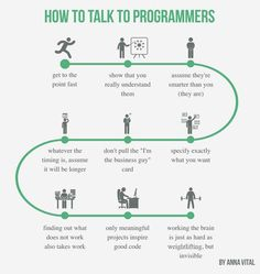 Spent half of my day with 3 programmers today. No wonder everyone wants to be a programmer these days. But not everyone can be. It's the only profession you can't really fake. When you talk to one you know why. Actually first you need to learn to talk to one;) (12 of 365 #ThoughsVisualized)