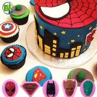 Fondant Craft Baking Cookie Templates Use for party with cake decoration mold Silicone materials mee