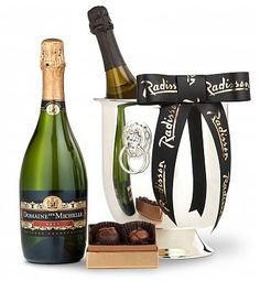 Champagne Elegance  The elegant gift for wedding or house warming