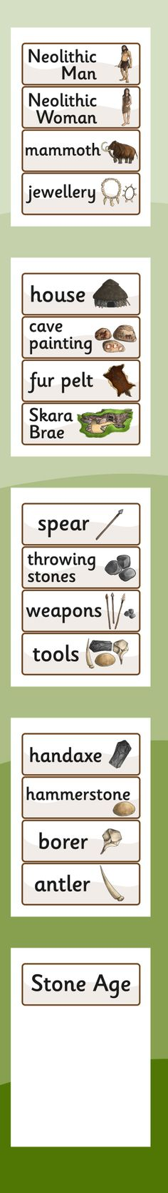 The Stone Age History - Primary Resources History Projects, School Projects, Art Projects, Ancient Art, Ancient History, Stone Age Ks2, Early Humans, Iron Age, Ancient Civilizations