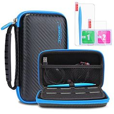 New Nintendo 2DS XL/LL Protective Carrying Case KINGTOP Hard Shell Travel Bag for New Nintendo 2DS XL/LL New Nintendo 3DS/XL/LL  Safeguard your beloved New Nintendo 2DS XL/LL from drops and scratches with this durable Kingtop Hard Shell Protective Carrying Case  Specially designed for the following Nintendo DS systems:New Nintendo 2DS XL/LL,Nintendo 3DS XL,Nintendo 3DS LL, Nintendo 3DS, New 3DS XL, NEW3DS LL ,New 3DS  All-round Protection for your New console,besides the hard outer she...