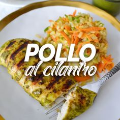 Pollo al cilantro, Tasty Videos, Food Videos, Comida Diy, Deli Food, Health Dinner, Easy Healthy Recipes, Mexican Food Recipes, Breakfast Recipes, Healthy Eating