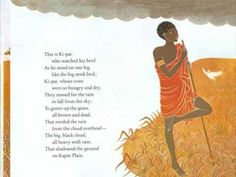 ▶ Bringing the Rain to Kapiti Plain - Shows each page, but is not read aloud. Contains background music.